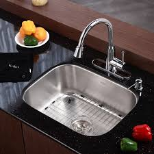 Granite Single Bowl Kitchen Sink Stainless Steel Kitchen Sinks Kraususacom