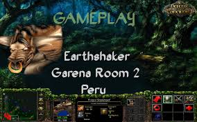 gameplay dota 1 earthshaker 5 vs 5 apso garena room 2 peru