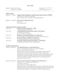 Pharmacy Technician Resume Objective Letsdeliver Co