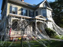 ... Smartness Ideas Halloween Decorations Spider Web 4 Incredible Outdoor  Spiderweb And Flying Ghosts.