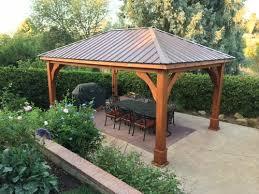 cedar pavilion kits. Brilliant Pavilion 12x18 Roof Span Pavilion  Traditional Roof Design Western Red Cedar  8x8 Columns Intended Cedar Pavilion Kits 4