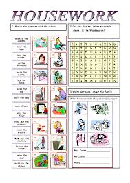 Weekly Household Chores Housework And Household Chores