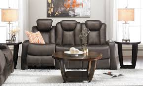 picture of power home theater sofa with power headrest