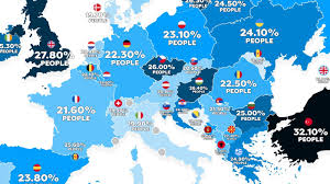 Obesity In America Vs Europe Two Maps Explain It All Big