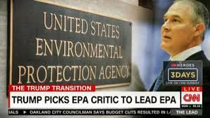 Image result for trump's epa