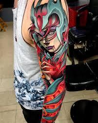 нео традиционная татуировка Juan David Rendón Tattoo Artists