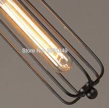 110 240v art deco vintage industrial antique metal cage pendant light factory wire steel lampshade lamps