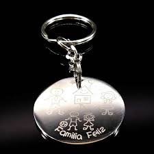 New <b>Grandmother</b> Silver Color <b>Stainless Steel</b> Keychain For Women ...