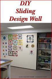Best 25+ Quilting room ideas on Pinterest | Sewing rooms, Ikea ... & DIY Sliding Quilt Design Wall. Sewing Room OrganizationCraft ... Adamdwight.com