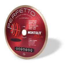 diamond blade for perfect finishing on porcelain marble granite montolit perfetto
