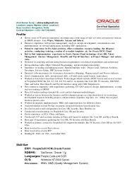 Alok Kumar Suraj_Oracle HCM Cloud Resume. Alok Kumar Suraj |  aloksuraj@gmail.com Location: Lagos, Nigeria (client ...