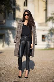shirts to wear with black leather pants