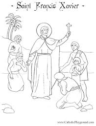 Small Picture Saints Coloring Pages Catholic Playground