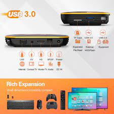 HK1 RBOX Android 10 Smart TV Box 4GB 64GB 32GB Rockchip RK3318 1080P H.265  5G Wifi 4K Google Player Store Youtube Set Top Box – Gear IPTV