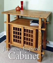 japanese furniture plans.  Plans 592 Japanese Cabinet Plans  Furniture And Projects And E