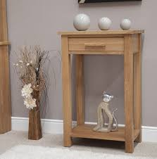 small hall furniture. eton solid oak hallway furniture small console hall table ebay