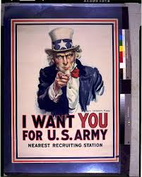 i want you for us army  nearest recruiting station library of congress
