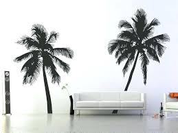 palm trees wall stickers palm tree wall decal home wall stickers palm tree silhouette wall decals