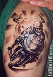 Tetování Motorek Ale I Jiných Věcí Vanilla Princess2