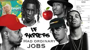 baby advertising jobs if rappers had ordinary jobs youtube