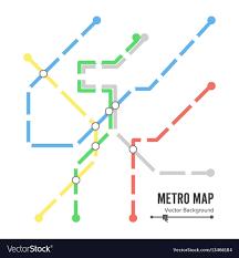 Subway Stock Price Chart Metro Map Subway Map Design Template