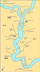 Map Of The Delaware River Pergoladach Co