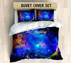 galaxy bedding twin galaxy bedding abstract nebula in deep space bedding set galaxy print duvet cover