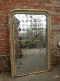 distressed mirror lrge ntique large tiles distressed mirror