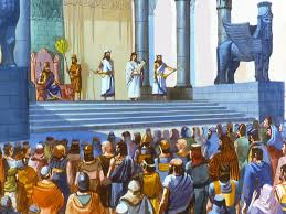 Image result for the religious leaders gathered around the lord in the bible
