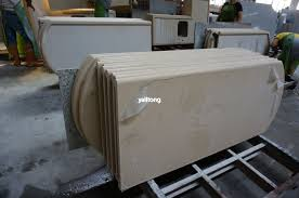 beige artificial quartz for kitchen countertops and bathroom vanity tops ylt 2606