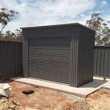 Small Picture Roller Door Storage Shed SteelChief Melbourne Sydney Adelaide