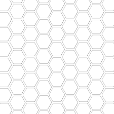 hexagon%2Bpattern hexagon outline on 3 7 8 inch printable template
