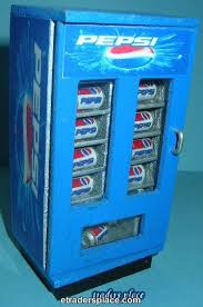 Miniature Vending Machine Beauteous Dollhouse Miniature Pepsi Vending Machine Etradersplace
