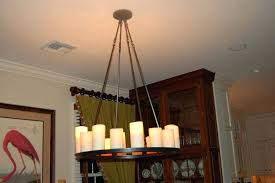 pictures rustic candle chandelier diy