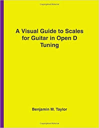 Amazon Com A Visual Guide To Scales For Guitar In Open D