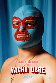 Extra Large Movie Poster Image for Nacho Libre - nacho_libre_ver3_xlg