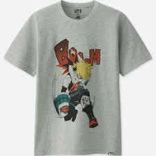 Jump 50th Ut My Hero Academia Short Sleeve Graphic T Shirt