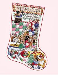 Cross Stitch Stocking Patterns Enchanting Donna Kooler's Stocking Collection Second Edition LeisureArts