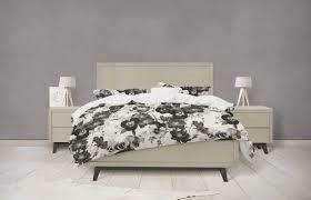 black and white fl bedding