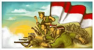 Hasil gambar untuk ilustrasi spirit kemerdekaan