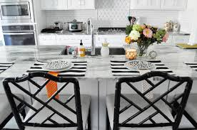Elegant A Review Of The Dayna Counter Stools From Ballard Designs In The Worn Black  Finish.