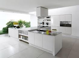White Tiled Kitchen Floor White Ceramic Tile Flooring For Most Popular Kitchen Design Trends