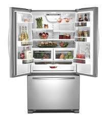 Kitchen Aid French Door Similiar Kitchenaid Counter Depth Refrigerator Specifications Keywords