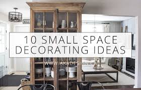 10 small space decorating ideas you can
