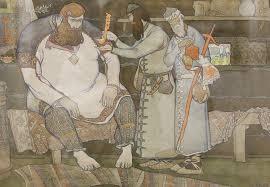 Высокий реализм Православный журнал Фома  Дипломная работа 2012 Эскиз композиции Е А Загайнов 5 курс 2006