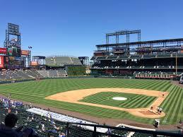 Colorado Rockies Seating Guide Coors Field Rateyourseats Com