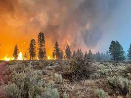 massive Bootleg Fire send smoke ...
