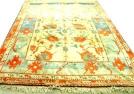 teal and orange runner rug turquoise area blue
