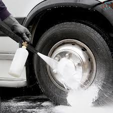 Súng Phun Bọt Tuyết Cho Máy Rửa Xe Ô Tô Karcher K2-K7 Pukkr tại Nước ngoài