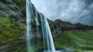 Beautiful Waterfall In Iceland Ultra HD ...